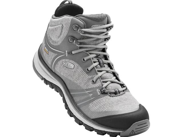 d4d552055e83 Keen Terradora Mid WP Shoes Women grey at Addnature.co.uk